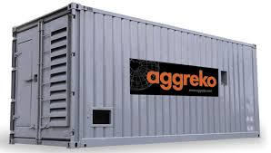 Aggreko trust Mobicons with their container handling needs