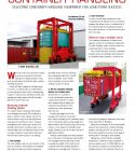 Mobicon Market Leaders In Container Handling