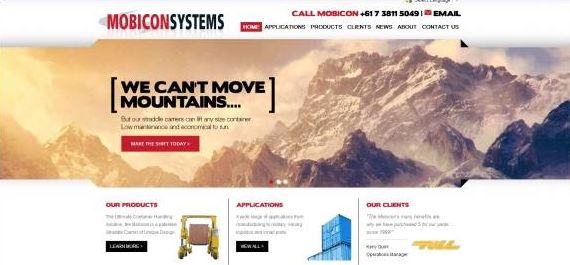 Mobicon Systems' Revamped Online!