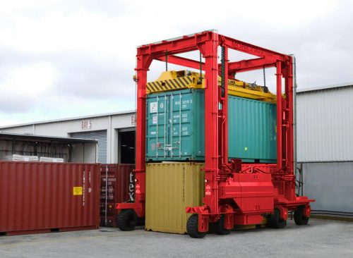 Container handling solutions for the smaller user