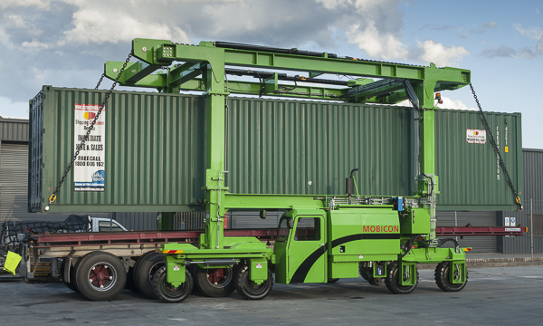Mobicon Straddle Carriers ECO range