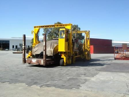 Advantages of a Mobicon over similar machines in Yard Operations